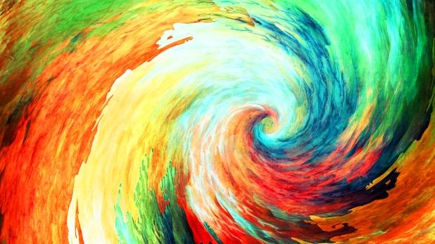 multicolor-spirals